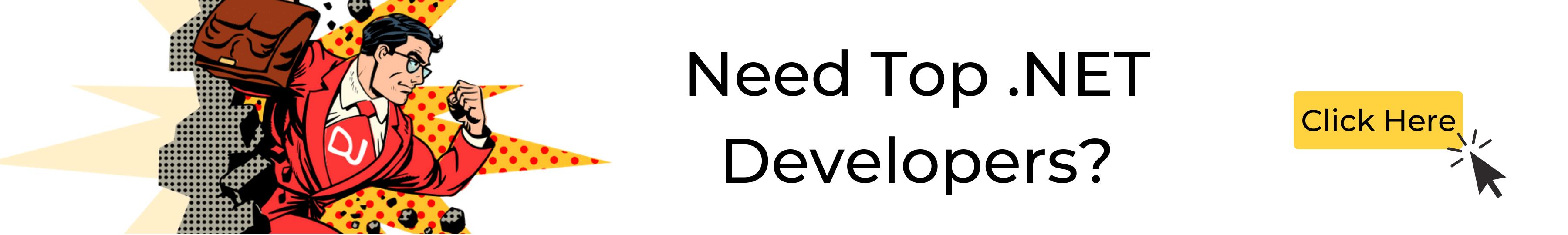 Hire top .NET developers