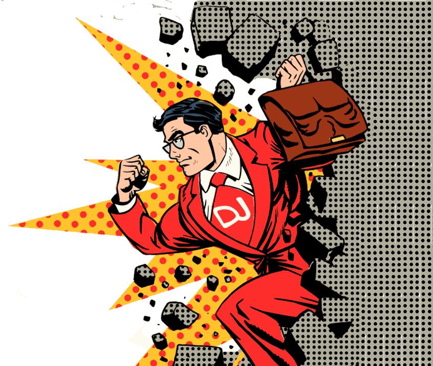Super-Distant-Job-Man